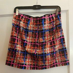 J. Crew Womens Checkered Skirt, Size 4, Never Work